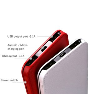 Ultra Slim 20000mAh Power Bank External Battery PoverBank 2 USB LCD Powerbank Portable Mobile phone Charger for Xiaomi MI iphone