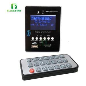 Free MP3 Alar music Support de module de lecteur MP3 USB Support de 32 Go U-Disk TF Média Lyric e LED Affichage etooth TF Audio Board