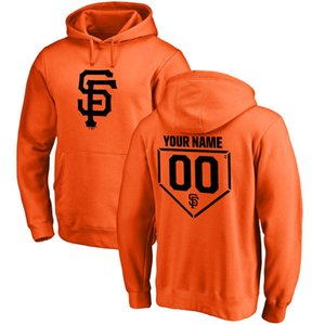Hot sales San Francisco Giants baseball hoodies jerseys Buster Posey Dereck Rodriguez custom any name and number men and women sweatshirts