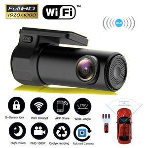 1080p Full HD Wifi Auto DVR Schlag-Kamera-Träger-Videorecorder 170 Weitwinkel Wireless-Schlag-Nocken-DVR / Schlag-Kamera-Auto-Styling Hot