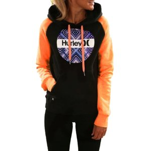 Halloween manches longues Femmes Sweats à capuche Sweats à capuche Casual Hoodie de poche BTS Tops Pull Femme Sudadera Mujer Jumper