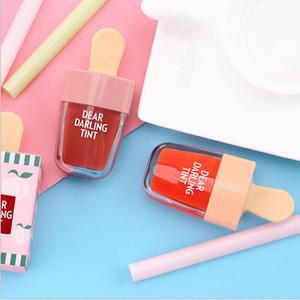 Coreano ETUDE HOUSE Caro Caro tinta Ice Cream Lipgloss Trucco liquido opaco Rossetto Lasting Crema Idratante impermeabile Lip Gloss 5 colori