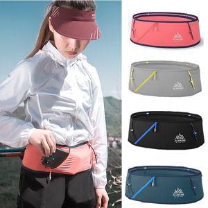 AONIJIE W8101 Running Waist Belt Unisex Gym Sports Trail Running Waist Bag Invisible Fanny Pack Marathon Bag Free Belt