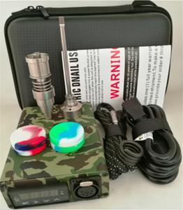 Dnail Vaporizzatore dispositivo 10 colori Dab enail BOX Quatz vetro titanio enail Termostato Mod per concentrato WAX