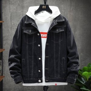 Denim coat men's trend and loose style 2020 spring and autumn new jeans fashion brand work clothes jacket