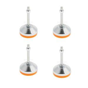 Lot de 4 meubles réglable à vis sur Glide support antidérapant Pieds Pied de Nivellement M16, M20