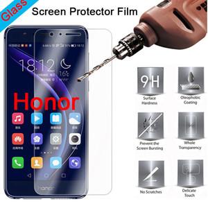 500pcs Mobile Phone Tempered Glass For Huawei Honor 10 20 20s V8 V9 V10 V20 V30 Pro Play Lite Screen Protector DHL Free