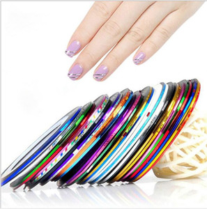 Ruban à Ongles Laser Tape Line Nail Art Autocollant Nail Striping Roll Astuces Beauté Pour DIY Ongles Art Conseils Décoration Autocollant KKA6441