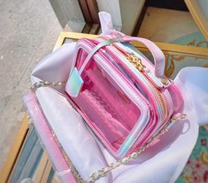 kutu ile toz torbası ile toptan 5A + Çanta Messenger çanta çanta zincir omuz çantaları, yüksek kaliteli crossbody torbası