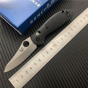 Benchmade-BM 555-1 MINI faca dobrável 440C lâmina afiada FRN alça de acampamento ao ar livre faca ferramenta BM940-1 BM555 BM42 BM940 BM943 EDC