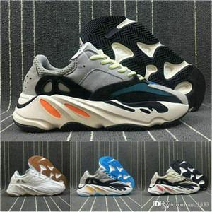 2017 High Quality Wave Runner 700 Real Womens Mens Shoes Design By Kanye West Season5 700s Sneakers Men Boots size 36-46
