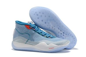 Home 2019 Eybl Warriors Mvp Kevin Durant Kd 12 12s Xii The Day One Men Basketball Shoes El
