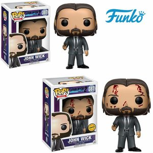 Funko pop Limited Edition Chase #387 JOHN WICK Vinyl Doll Action & Figures Toy Collectible Model Toy for Children Birthday Gift