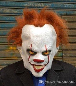 Клоун Латексная Маска Клоун Эхо Маска Cos Головной Убор Гальваника Унисекс Маска Косплей Костюм Кинозвезды Партия Этап