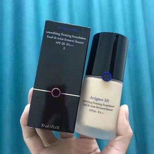 Горячие продажи GIORGIO бренд лицо макияж дизайнер лифт maquillage жидкий фонд макияж сглаживание укрепляющий Фонд цвета 2# 3# 4# NW30ml