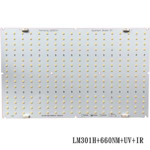 삼성 QB288 양자 주도 램프 보드 LM301B LM301H 3000K 3500K 660 UV IR 히트 싱크 Meanwell 120w 240w 드라이버
