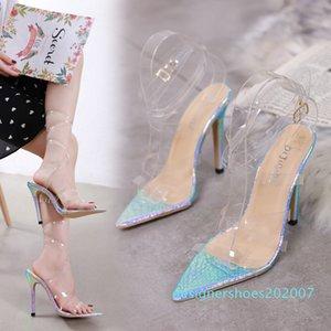 HOKSVZY Shoemaker Mujer Women Shoes Sandálias de Salto Alto Womens Shoes luxuosos Designers Sandálias de salto alto d07