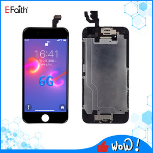 EFaith gute Qualität der volle Satz LCD für iPhone 6 LCD-Anzeigen-Noten-Digitizer Montag Guter Reparatur Ersatz Mit Home-Taste