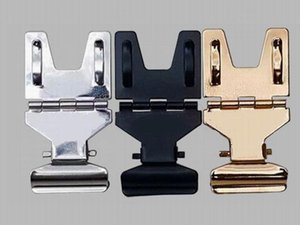 Metal POP Clip Sign Paper Card Display Price Label Tag Promotion Clips Holders Hook Black,Silver,Gold