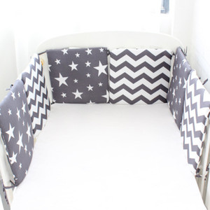 Bumper combination Nordic Star baby bed Bumpers Suitable for round bed square Cushion Cot Newborns Room Decor