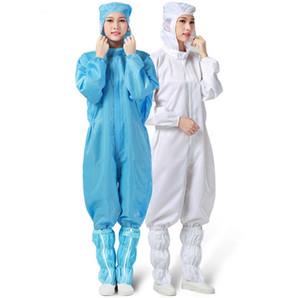 Rosa Indumenti di protezione Protective Clothing Office Work antipolvere tute con cappuccio per adulti Abbigliamento Bianco Blu Giallo