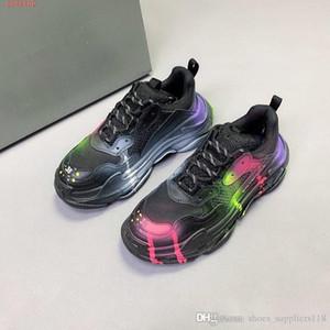 neueste Neueste Liebhaber Frühjahr disigner Sneaker Transparent Sohlen Leder-flache Designer Trainer berühmte Marke Freizeitschuhe mit Kasten Größe 36-45
