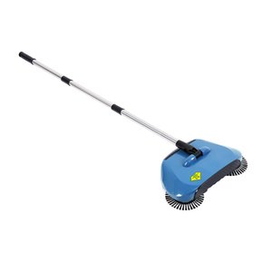 Stainless Steel Sweeping Machine Push Type Hand Push Broom Dustpan Handle Household Cleaning Package Hand Push Sweeper Mop