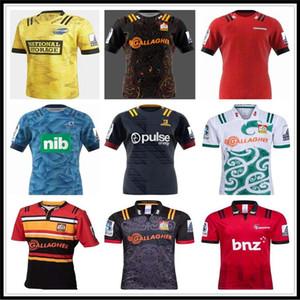 2019 2020 Jefes de New Super Rugby Nueva Zelanda súper jefes de los azules huracanes cruzados montañeses 2019 camisas de Rugby Jerseys