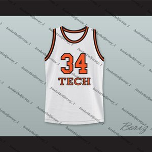 Jesus Shuttlesworth 34 Tech U Home Basketball Jersey He Got Game-1