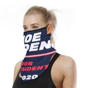 New Sports Cycling Face Scarf Earring US Presidential Election Biden Mask Multi-functional Biden Headscarf 16 Style Joe Biden T3I5831
