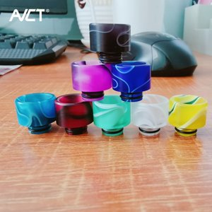 510 Acrylic Drip Tip Wide Bore TFV8 Baby Resin Tip Epoxy Resin TFV12 Baby Prince Mouthpiece Vape E cigarette Accessories