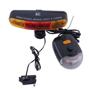 Bicycle Rear Light Cycling LED Turning Indicator Brake Signal Taillight Waterproof MTB Road Bike Tail Light Back Lamp for Bike
