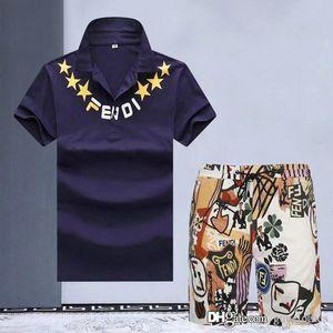 High Quality Summer mens tracksuit Sets medusa Men's Cotton mens designer tracksuits Sleeve T-Shirt Solid Color Large Size Casual Pants