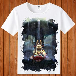 2018 Nova Made in Abyss T-shirt Unisex Impressão bonito camisetas Made in Abyss COSPLAY Tee