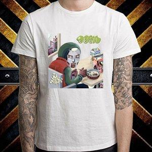 Doom mf Rap Hip Mm alimentaire Hop Album Logo MENS White T-shirt Taille S à 3XL