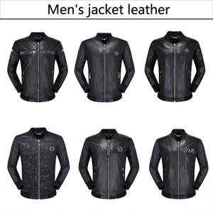 de couro da motocicleta casacos casacos novos homens de Moda de 2019 casaco de couro usado jaqueta de couro 2020