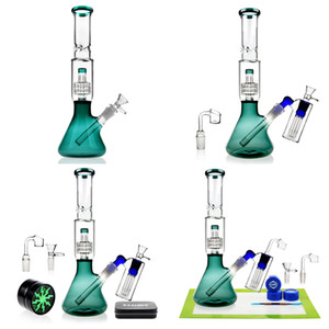 REANICE 2019 Supplies Wee Bong Bong In Acqua a mano Ice Bubbler Ash Catcher Honeycomb Branch Dabber Rig Recycler tubo di acqua comune