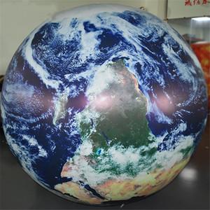 الحرة الشحن إلى الباب، كبيرة الهيليوم يطير الكرة الأرضية العملاقة للنفخ كرة أرضية بالون نفخ الكواكب الكرة للدعاية