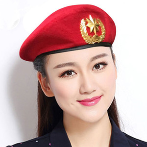2021 Yeni Yün Erkekler Kadınlar Için Keçe Bere Keçe Tüm Seasons Unisex Rahat Bere Denizciler Dans Şapka Dans Performansı Ordu Hayranları Dome Cap