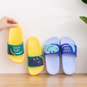 Top-Qualität Mädchen Junge Sommer-Kind-Anti-Rutsch-weiche Unterseite Fashion One Word Slipper Kinderschuhe Schlafzimmer Sandalen Kleinkind-Mädchen-Flipflop