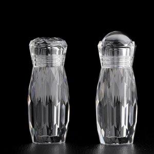 5 ml Klare Acryl Kosmetikdosen Reisegröße Creme Flasche Gesicht Hand Lotion Dispenser Jar Diamond Shape