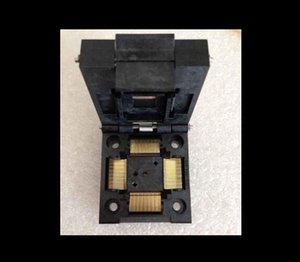 Véritable Yamaichi IC51-1004-809 IC Socket Test de programmation Adaptateur de hauteur QFP100 NP89-13302-G4