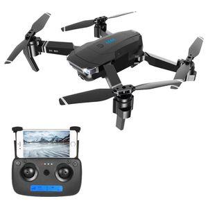 Ayarlanabilir Geniş açılı Kamera Optik Akış Konumlandırma RTF ile ZLRC SG901 YUE 4K WIFI Katlanabilir RC Drone - Siyah