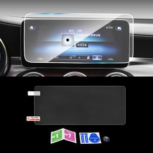 Für Mercedes-Benz GLC X253 C253 2015-2020 Auto-Navigation GPS-Monitor-Schirm Schutzglas Ausgeglichenes Film-Aufkleber Zubehör