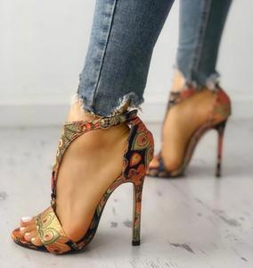 kadın Yüksek Topuklar Sandalet Yeni ayakkabılar kadın Moda Yaz Seksi Bayanlar Stiletto Süper Peep Toe ayakkabılar Pompalar Artan Pompalar