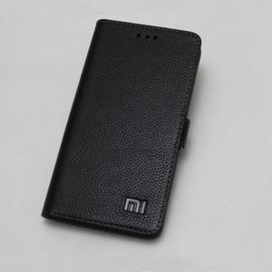 Toptan Xiaomi MI MIX 2 S Hakiki Durumda deri Darbeye Xiaomi MI MIX2S TELEFON için Arka Kapak Flip Case