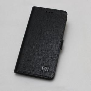 Atacado Para Xiaomi MI MIX 2 S Caso Genuíno de couro À Prova de Choque tampa traseira Flip Case para Xiaomi MI MIX2S TELEFONE