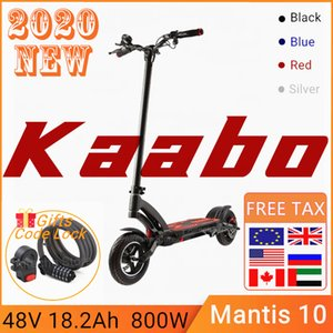 2020 Original Kaabo Mantis Kickscooter single motor scooter 800W 48V 18.2Ah smart electric scooter two wheel foldable skateboard