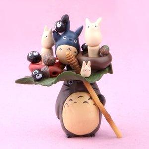 19 PCS هاياو ميازاكي جارتي Totoro PVC الشكل العمل