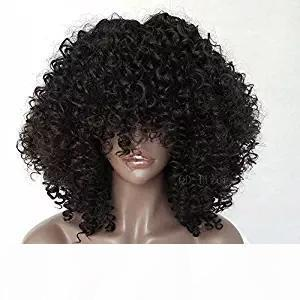 L 360 Lace Frontal Wig Pre Plucked 360 Lace Front Human Hair Wigs 180 %Density Bleached Knot Cheap16inch Kinky Curly Bob Wig With Bang
